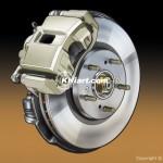 Car front disc brake